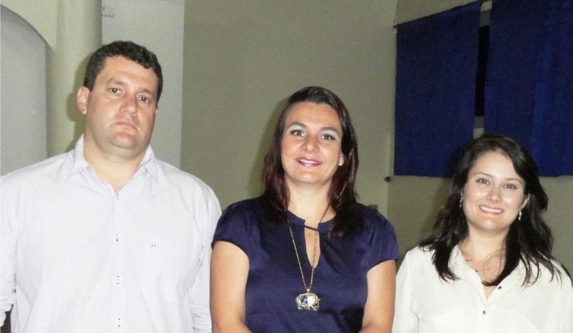 Antonio, Presidente da CIPA, Daniele e Carolina.