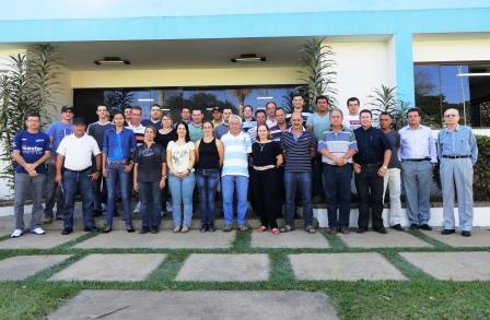 Integrantes da Comissão Interna de Prevenção de Acidentes 2012-2013 e Diretoria da ICASA.