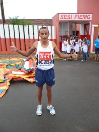 """Colaborador da ICASA, Rogério Anastácio, medalha de ouro na categoria """"Industriário"""""""